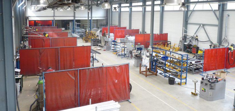 Atelier de 1000 m2 de surface