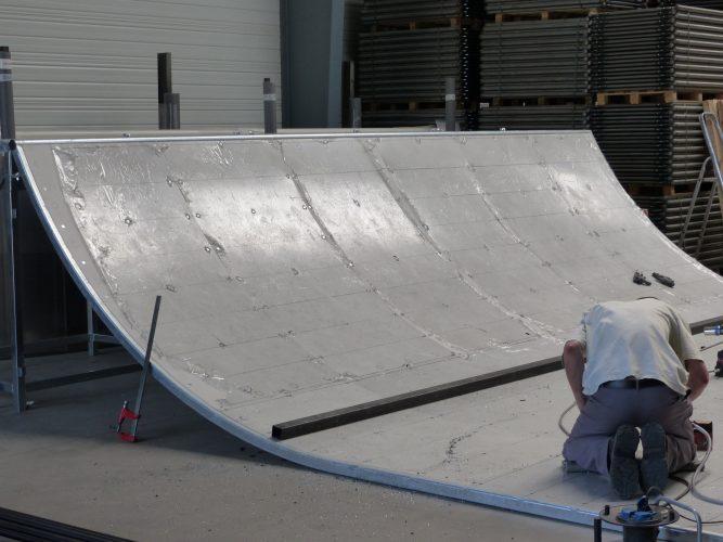 Montage d'une rampe