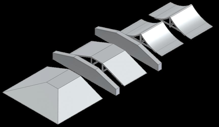 Assembalge de modules de sauts