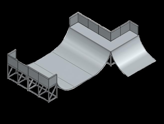 Combiné mini rampe
